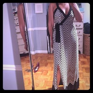 Sexy maxi dress. Resort wear.